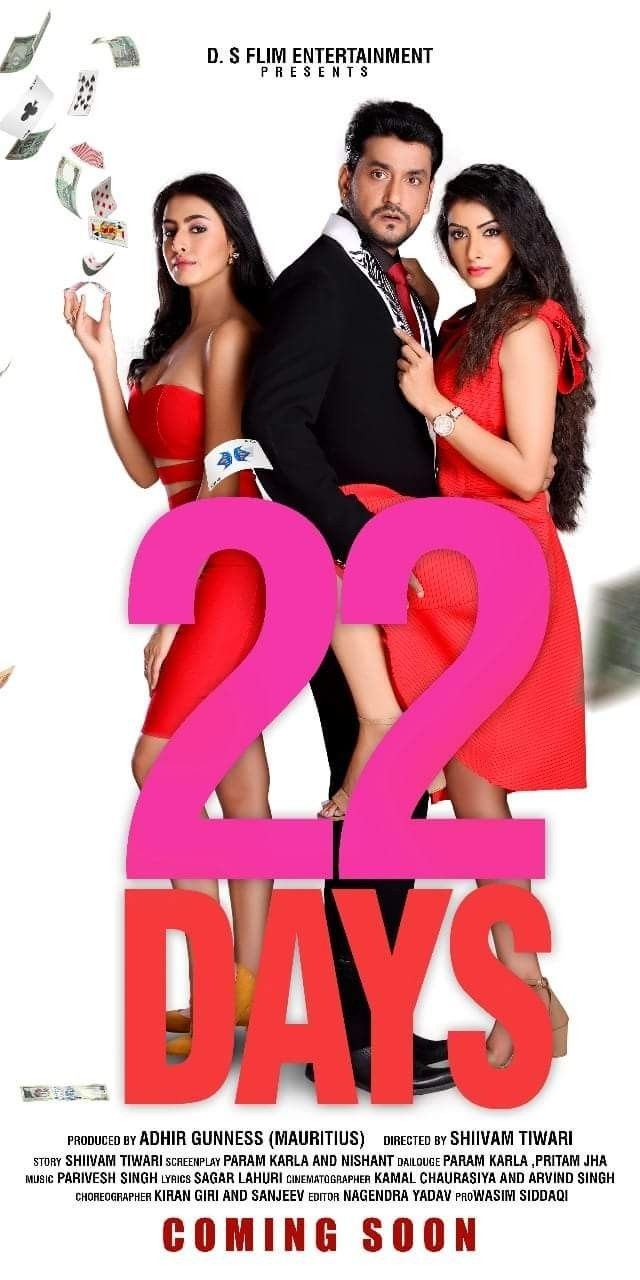 22 Days Poster