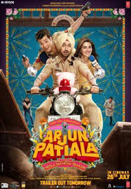 Arjun Patiala movie poster