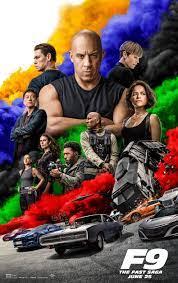F9 - The Fast Saga movie poster