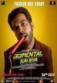 Judgemental Hai Kya poster