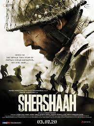 Shershaah movie poster