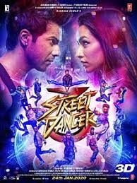 Street Dancer 3D movie poster