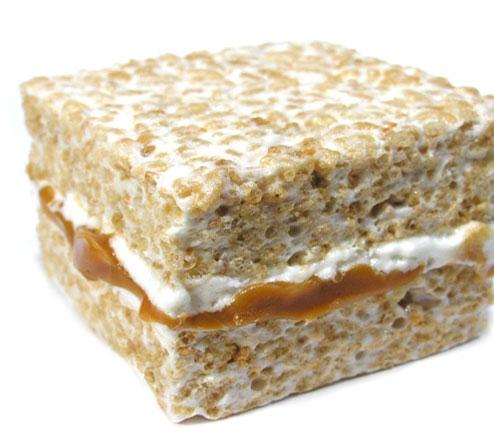Caramel Marshmallow Treats Recipe