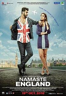 Namaste England Poster