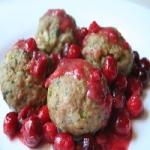 Meatballs in Cranberry Sauce