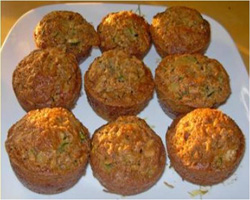 Pineapple Zucchini Muffins Recipe