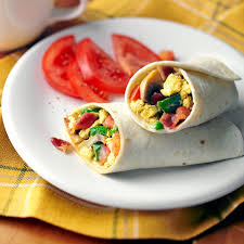 Egg and Bacon Wrap