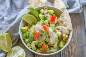 Shrimp and Cilantro Ceviche Recipe