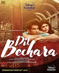 Dil Bechara movie poster